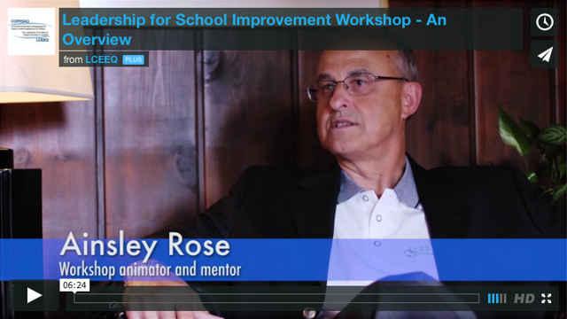 See the leadership workshop video!